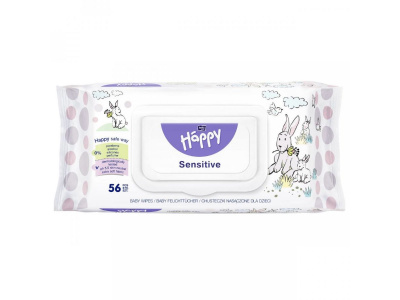 Salviette Happy 56pz