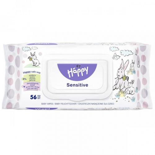Salviette Happy 56pz